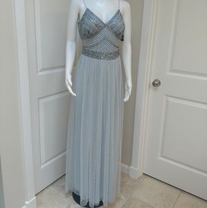 Marina Embellished Beaded Bodice Gown